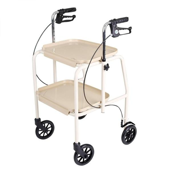 Tray Mobile Walker Trolley