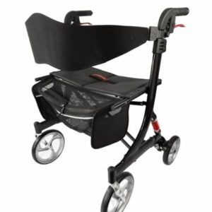 Walking Frame Ellipse Heavy Duty Bariatric Rollator 205kg