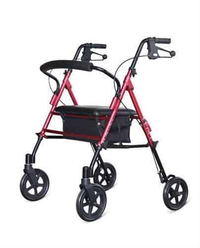 Walking Frame A Frame DAYS Heavy Duty Red 220kg