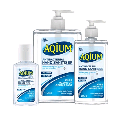 Aqium Hand Antibacterial Sanitiser 1Litre