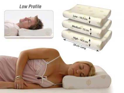Pillow Bed Naturelle Latex LOW