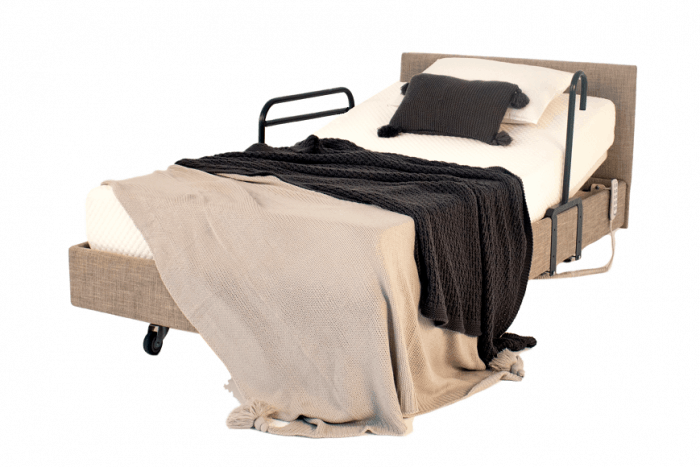 IC333 King Single Electric Bed- Stone