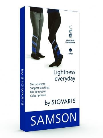 Compression Stocking Samson AD 140D Size 6 Black