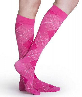 Compression Stocking MicroFibre Shades Size C Pink
