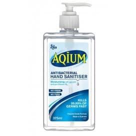 Aqium Hand Antibacterial Sanitiser 375ml