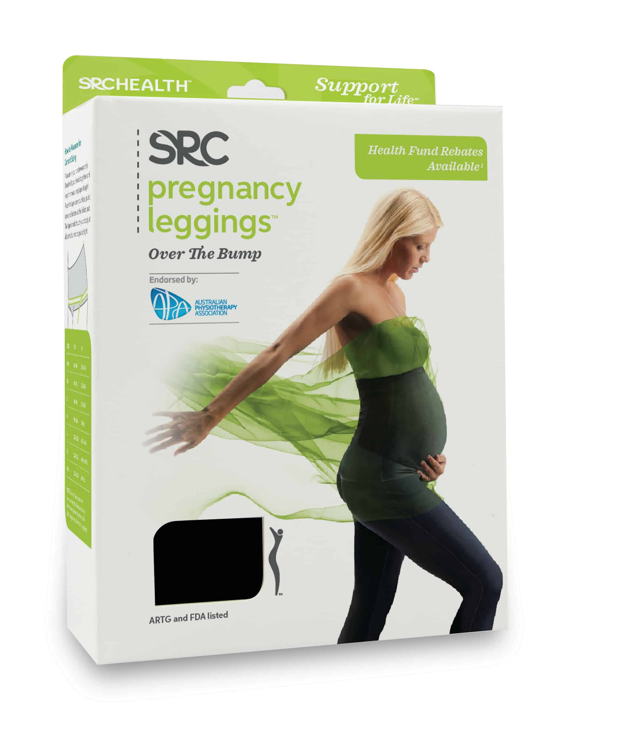 SRC Pregnancy Leggings OTB Small 234