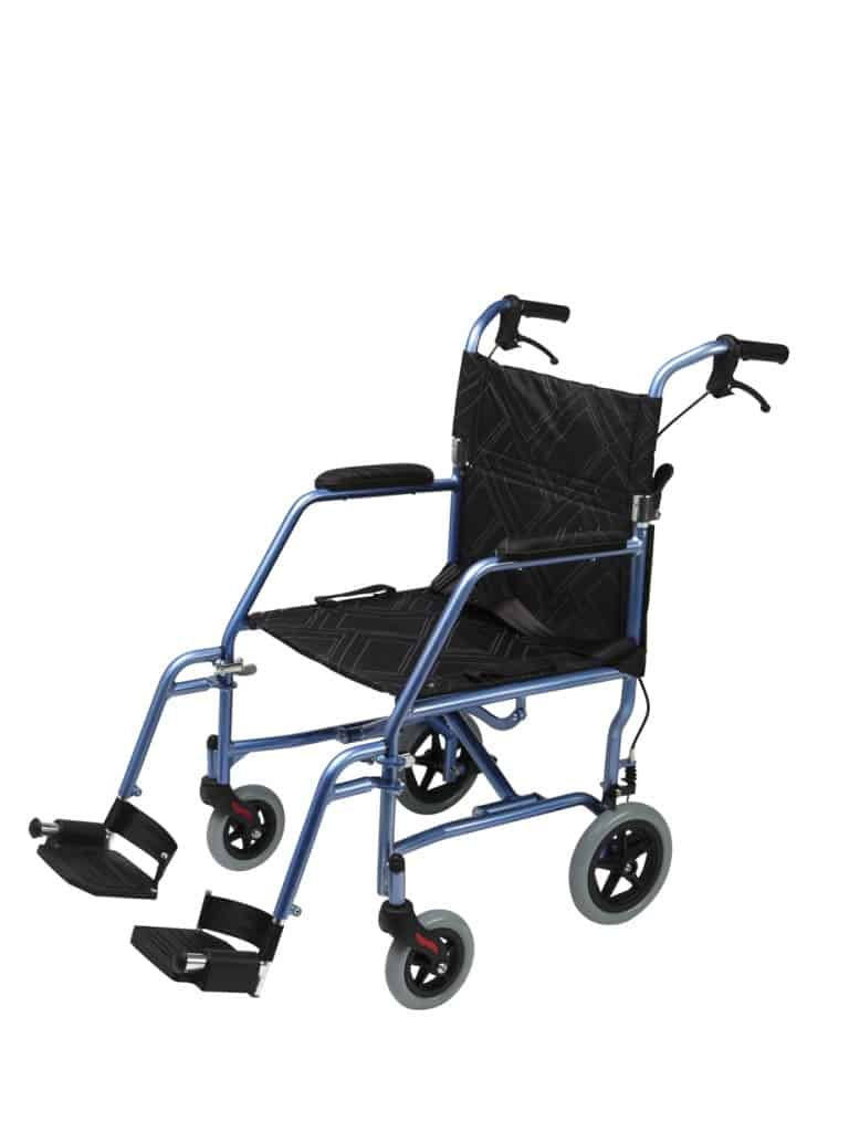 Wheel Chair Omega LA1 125kg Blue